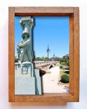 Estatua huertano rio